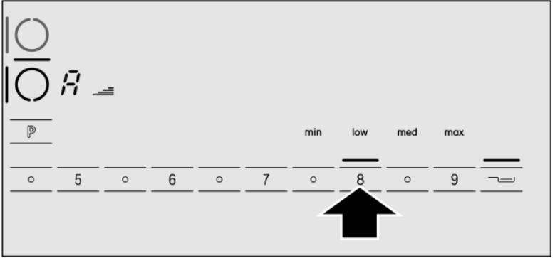 hệ thống bảng điều khiển của bếp từ bosch